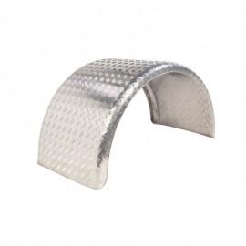 Paire d'ailes aluminium roues jumelée simple essieu