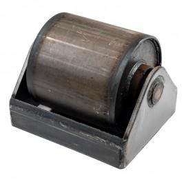 Rouleau de benne acier 160mm avec cage