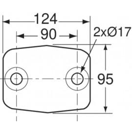 Crochet à boule 3,5T