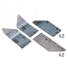 Kit de renforts pour poutre UPN 200mm classe 2