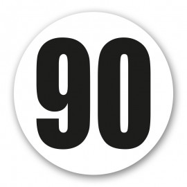 Disque limitation 90 adhésif