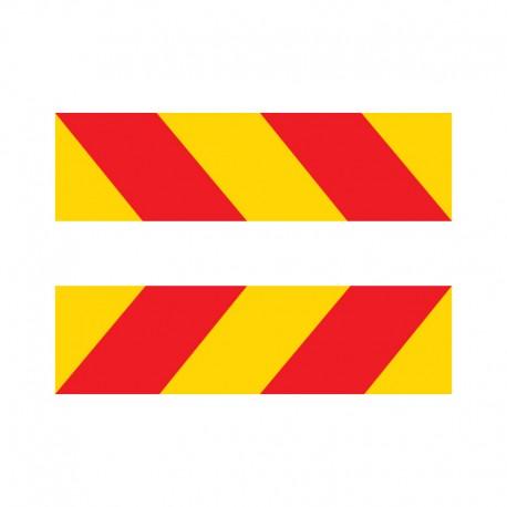 Kit plaques adhésives pour camion
