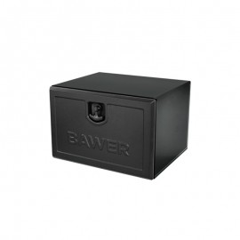 Coffre acier noir L 800mm x H 500mm x P 500mm
