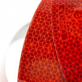 Bande réfléchissante rouge rouleau 50m