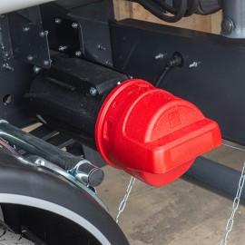 Coffre extincteur 6 kg à chargement frontal
