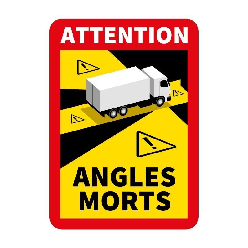 Sticker angle mort pour camion
