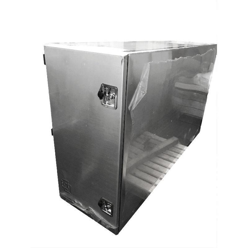 Coffre arrière de cabine en aluminium H 900