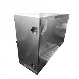 Coffre arrière de cabine en aluminium H 1200