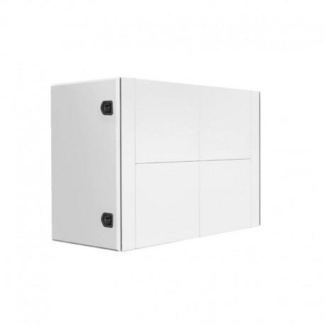 Coffre arrière de cabine en acier peint blanc arctique  H 900