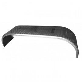 Paire d'ailes en aluminium double essieu